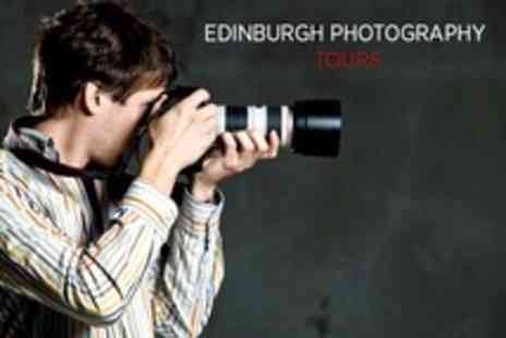 Edinburgh Photography Tours - Four Hour Photography Course and Tour With One 12 x 8 Edited Print - Save 73%