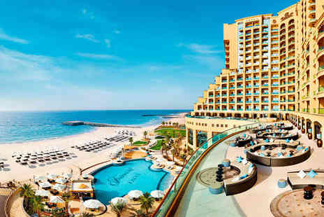 Fairmont Ajman - Five Star Dramatic Design Overlooking the Arabian Gulf - Save 34%