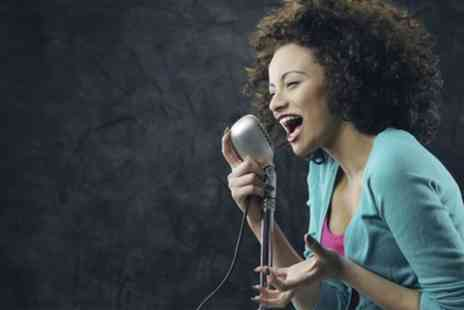 Rhythm Room - Three or Five One to One Singing Lessons - Save 72%