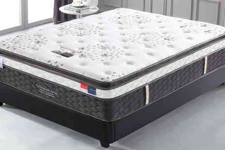 Groupon Goods Global GmbH - Platinum 6000 Series Pillow Top Mattress With Free Delivery - Save 0%
