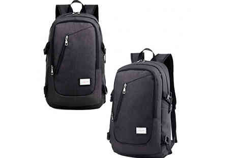 HXT Goods - Usb Travel Tide Backpack Choose 3 Colours - Save 57%