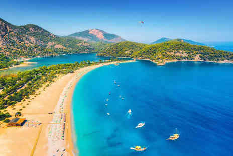 Super Escapes Travel - Seven night all inclusive Marmaris stay with return flights - Save 33%