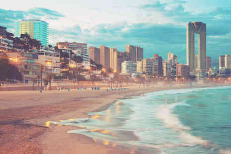Super Escapes Travel - Three, five or seven night 4 Star half board Benidorm break with return flights - Save 22%