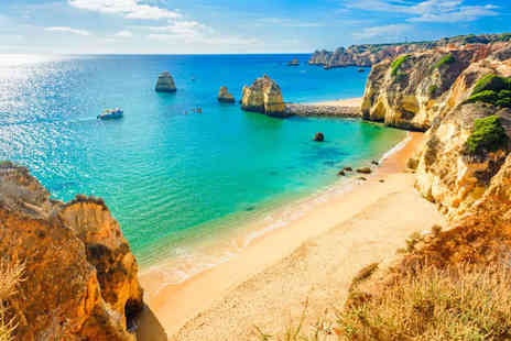Super Escapes Travel - Three, Five or Seven night all inclusive Algarve apartment getaway with return flights - Save 42%