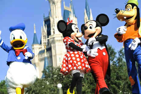 Super Escapes Travel - Two night Disneyland Paris getaway with return flights - Save 53%