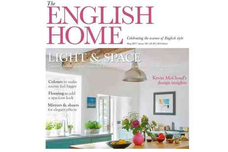 The Chelsea Magazine Company - 12 month subscription to English Home magazine - Save 42%
