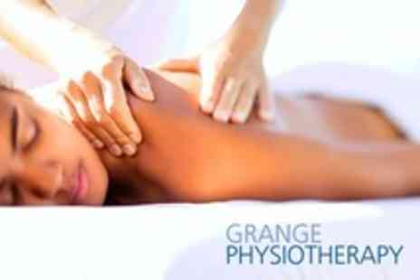 Grange Physiotherapy - Deep Tissue Sports Massage With Physiotherapy Assessment  - Save 65%
