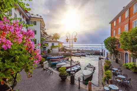 Super Escapes Travel - Two  or four night 4 Star Lake Garda getaway with breakfast and flights - Save 35%