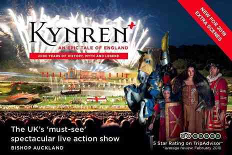 Kynren - Gold child ticket to the Kynren outdoor live action show - Save 37%