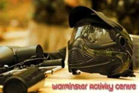 Warminster Activity Centre - Paintballing For Ten With 100 Paintballs Each - Save 95%