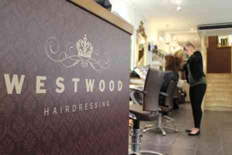 Westwood - Cut, Blow Dry and Conditioning with Optional Massage and Half Head Highlights - Save 52%