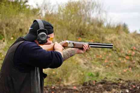 Outdoor Scotland - Clay Pigeon Shooting and Introductory Lesson or Clay Pigeon Shooting and Archery Lesson - Save 0%