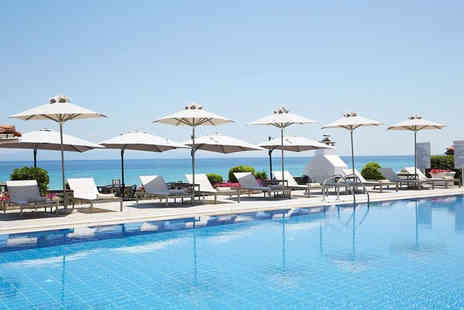 Bargain Late Holidays - Seven night half board Halkidiki getaway with return flights - Save 38%