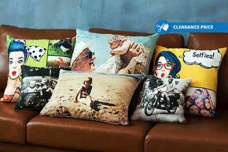 Dip Into Sales - Personalised photo cushion - Save 67%