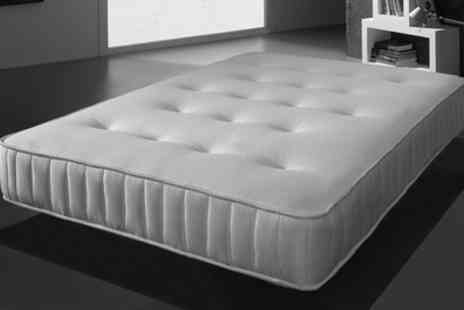 Groupon Goods Global GmbH - Cleo Memory Bonnell Sprung Mattress With Free Delivery - Save 84%
