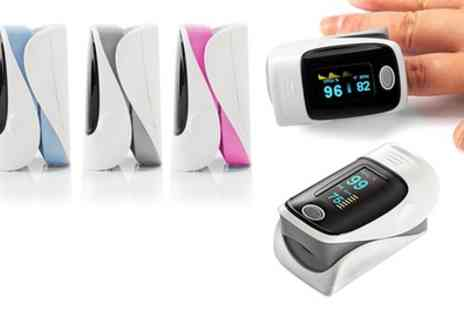 Groupon Goods Global GmbH - One or Two Fingertip Blood Pulse Oximeters - Save 52%