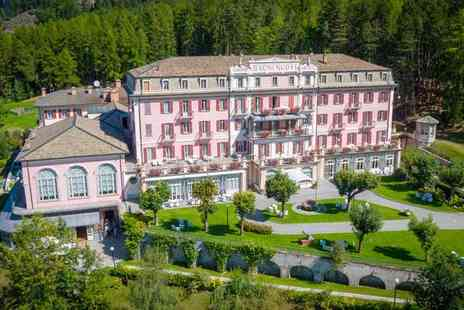 Grand Hotel Bagni Nuovi - Five Star Luxury Spa Hotel Stay For Two in the Italian Alps - Save 59%