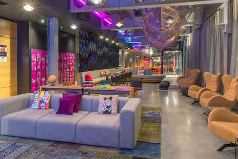 Moxy London Excel - Funky Boutique Style Stay For Two near Exhibition Centre - Save 77%