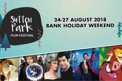 Booh Media PLC - One general admission ticket to a Sutton Park Film Festival movie screening on 24 To 27 August - Save 39%