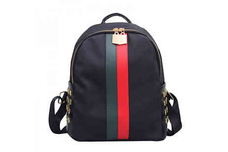 HXT Goods - Striped Backpack in 2 Styles - Save 50%