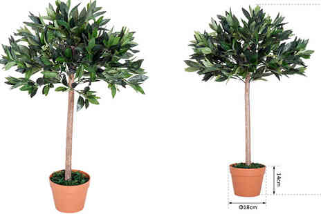Mhstar - Artificial Olive Tree Plant or Bamboo Tree - Save 50%