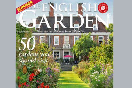 The Chelsea Magazine Company - 12 month subscription to The English Garden magazine - Save 36%