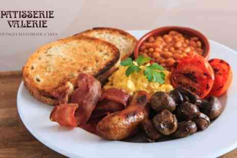 Patisserie Valerie - All Day Brunch with Optional Hot Drinks for Two - Save 30%