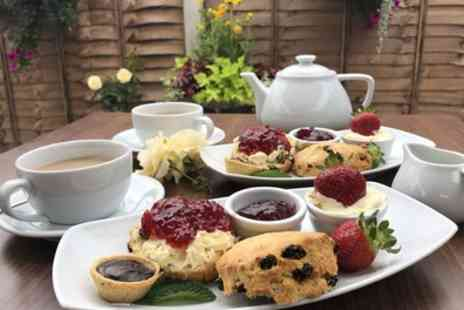 Carpenders Park Garden Centre - Cream Tea for Two or Four  - Save 50%