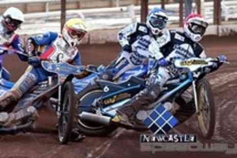Newcastle Speedway - Motorcycle Speedway Four Tickets to Newcastle Diamonds v Edinburgh Monarchs - Save 57%