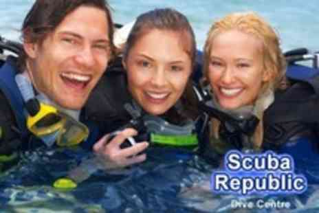 Scuba Republic - PADI Open Water Scuba Referral Course - Save 68%