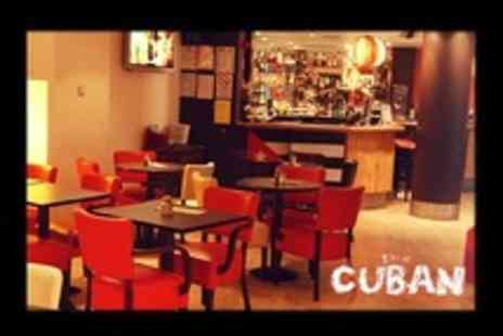 The Cuban - Nine Cuban Tapas Plus Jug of Sangria or Mojitos For Two - Save 50%