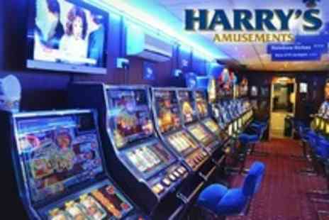 Harry s Amusements - Voucher Playing Credit - Save 67%