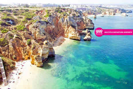 Crystal Travel - Three, five or seven night all inclusive Algarve getaway with return flights, a five night stay - Save 52%