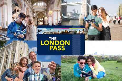 The Leisure Pass Group - Child sightseeing pass or adult pass from The London Pass - Save 0%