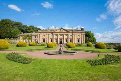 Wortley Hall - One or two night stay for two people with breakfast, a bottle of Prosecco and cream tea - Save 43%