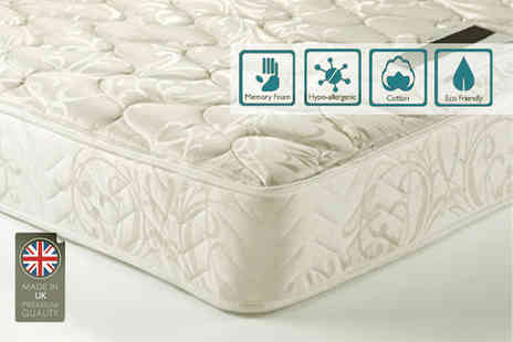 Dining Tables - Small single memory sprung mattress - Save 90%