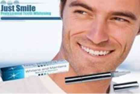 Just Smile - Professional Teeth Whitening Pen from Just Smile inc - Save 70%