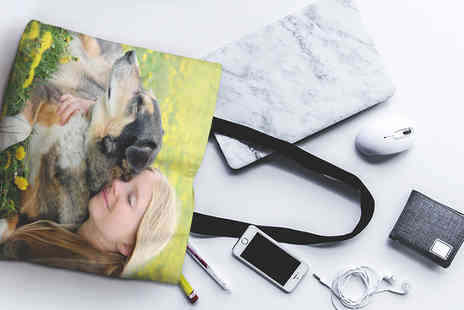 Photo Gifts - Personalised photo tote bag - Save 83%