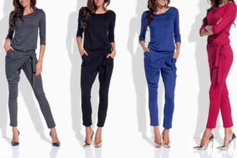 Groupon Goods Global GmbH - Womens Camila Jumpsuit - Save 0%