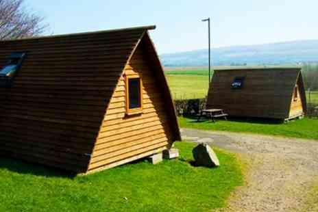 Mains Farm Wigwams - Two or Three Night Glamping for Two or Family of Five - Save 53%
