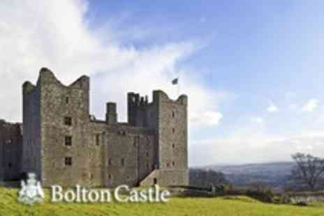 Bolton Castle - Entry for 2 with access to gardens and grounds - Save 53%