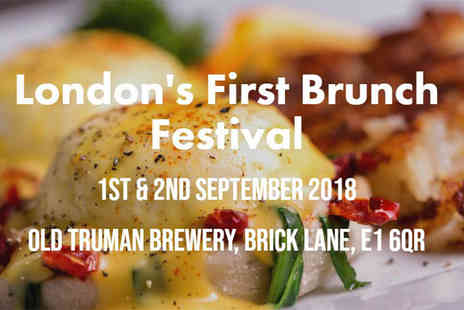 London Brunch Fest - Two tickets to the London Brunch Fest with a Bloody Mary each, Brick Lane - Save 53%
