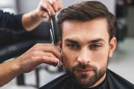 Prague Hair Salon - Mens Cut, Wash and Style with Optional Wet Towel Shave or Beard Trim - Save 40%