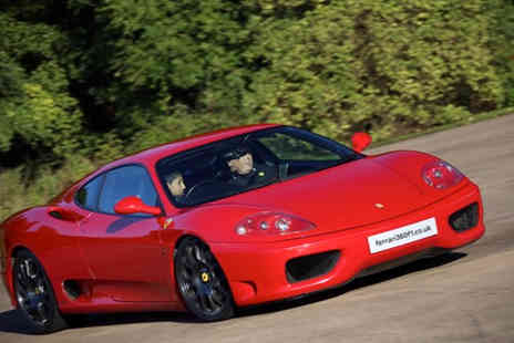 Ferrari 360 F1 - Junior supercar experience with Ferrari 360 F1 - Save 51%