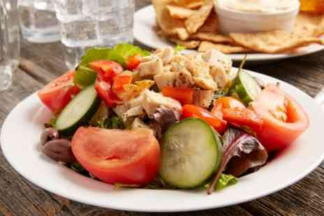 Bambos Cafe Restaurant - Greek Meze Platter for Up to Six - Save 60%