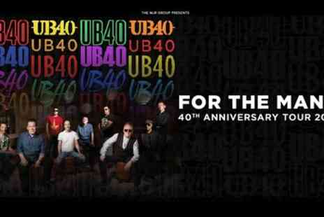 Alchemy Promotions - One standing or seated ticket to see UB40 on 21 December 2018 To 22 May 2019 - Save 18%