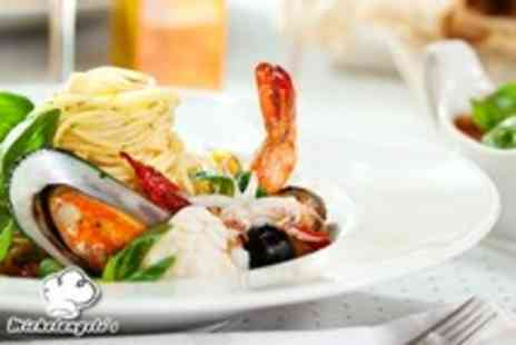 Michaelangelos - Two course Italian meal for 2 inc starters, mains & a glass of Prosecco - Save 47%