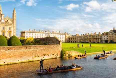 Scudamores Punting Company - Two or Three hour punt hire for up to 6 - Save 55%