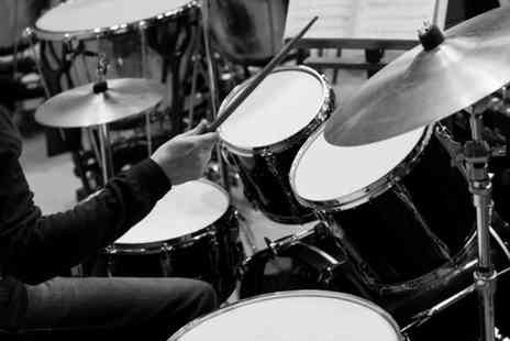 Roddy Gray Drum School - Set of four drum lessons - Save 72%