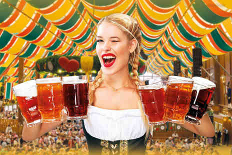 Mega Events - Two Oktoberfest tickets for a day or night session choose from Leamington Spa, Woking or Salisbury locations - Save 57%